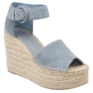 NWOT Marc Fisher Alida Espadrille Wedge Sandals